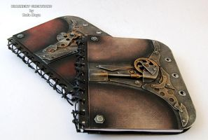 Steampunk Notebooks by Diarment