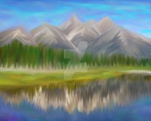 Mountains 02 by lmtcloud