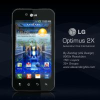 LG Optimus Black .PSD by zandog