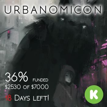 URBANOMICON at 36% Funded! by Alex-Chow