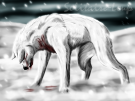Stand your ground by Solitaire-Loup