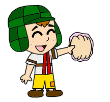 El Chavo as Chibi by MarcosPower1996