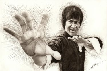 Bruce Lee by AmBr0