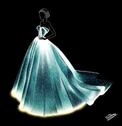Zac Posen Met Gala 2016 Dress by ElyGraphic