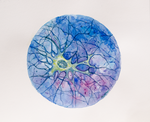 Watercolor Neuron#4 by lodeacca