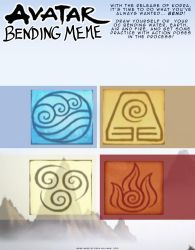 Avatar Bending Meme by AD-Ink
