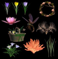 Spring PNG Stock by DemoncherryStock