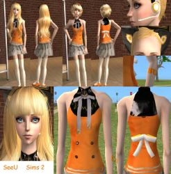 Vocaloid SeeU - The Sims 2 Download UPDATED by Cinzia-chan