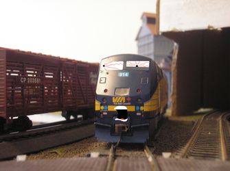Fansworth hates freight work by Tyler3967