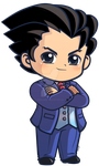 Phoenix Wright_ Ace Attorney Chibi Charm