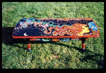 Harlequin's Kiss Table by ReincarnationsPF