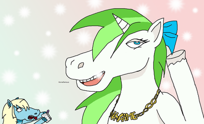 Minty Root in Calibri 8 by maripooh13