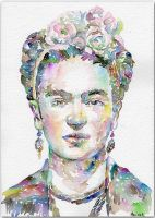 Frida Kahlo by MarinaSotiriou