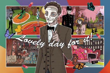 Lovely day for it! - We Happy Few Contest Entry by GhostPriest