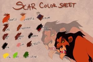 Scar color sheet by Takadk