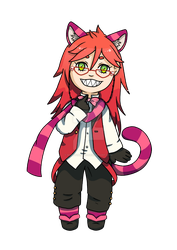 Grell Sutcliff (cheshire) by robot0artist