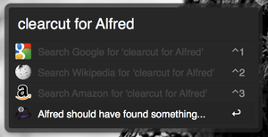 clearcut for Alfred by TaylorCohron