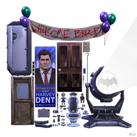 Batman (The TellTale Series) - Props (Pack I) by MrUncleBingo