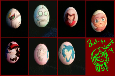 Easter Eggs by ShadowTriforce
