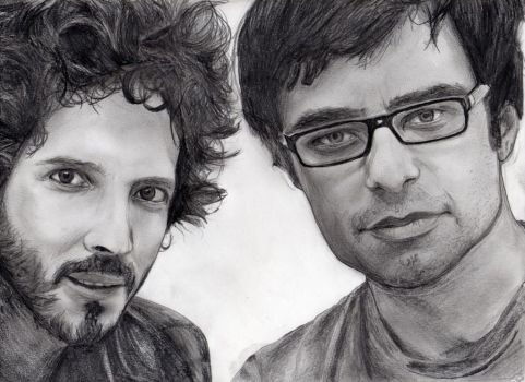 Flight of the Conchords by dollparts21