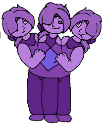 Charoite Triplets by SkyPaint1
