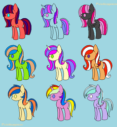 More Pony Adopts! (read description) by nevaehchibi200