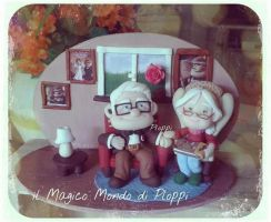 CARL Ellie Fimo polymerclay Ploppi by MagicoMondoDiPLOPPI