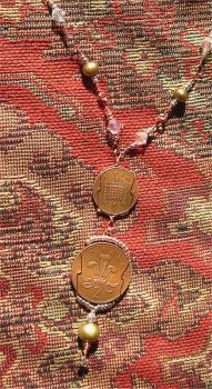 Three Pence Necklace by ElegantlyEccentric