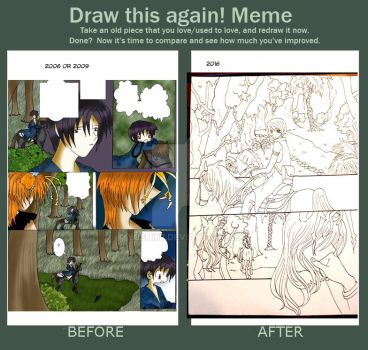 before and after by Yushi67