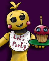 Toy Chica-Lets Party! by longlostlive