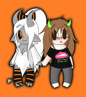 Spoopy Chibis by WinGrims