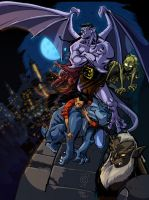 Gargoyles COLORS by Nexxorcist