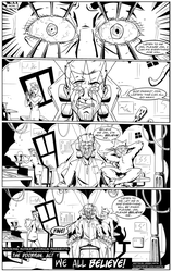 The Doorman: Act 1 pg1 by LucasDuimstra