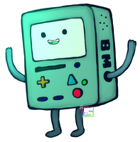 Adventure time: BMO by Simkray