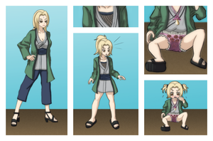 Naruto - Tsunade Age Regression Sequence by Ar-Kayn