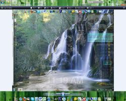 Blur in Rocketdock 1.1 by asilaydyingdl