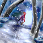 The Sound of Snow Falling by SonicRose