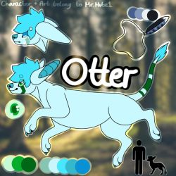 Otter by Mr-Mute1