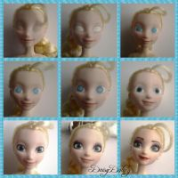 How to Repaint a Doll (Elsa) by DaisyDaling