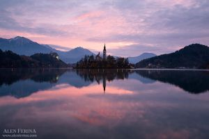 The magic of lake Bled by Febo-theRealOne