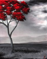 Singled Out : Red [For Sale] by TreeCree