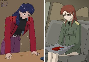 NGE vs Strike Witches 4 by vmv-81