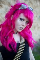 Girl with pink hair by WednesdayStock