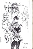 medusa concepts 2 by dogmeatsausage