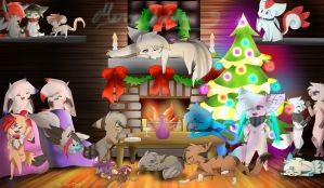 Merry Christmas!! by Amichie
