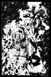 Silver Surfer by ShannonEricDenton