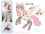 Moodboard Pony Adopt [CLOSED] Gentle Glide by JellyBeanBullet