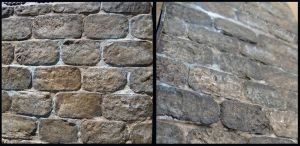 Steampunk House  Stone Wall Detail by Kyle-Lefort