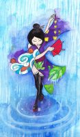I DANCE FOR THE RAIN by Wakakin