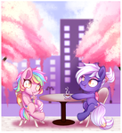 Cafe Talk (YCH Complete 3) by Naughty-Savage